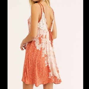 NWT! Free People Morning Sun Mini Dress Size M